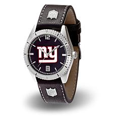 """Officially Licensed NFL Sparo """"Guard"""" Strap Watch - Giants"""