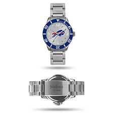 Officially Licensed NFL Sparo Key Personalized Watch - Bills