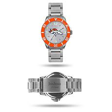 Officially Licensed NFL Sparo Key Personalized Watch - Broncos