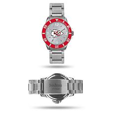Officially Licensed NFL Sparo Key Personalized Watch - Chiefs