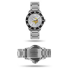 Officially Licensed NFL Sparo Key Personalized Watch - Vikings