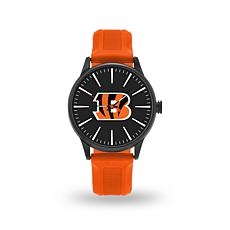 "Officially Licensed NFL Sparo Team Logo ""Cheer"" Strap Watch - Bengals"