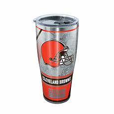 Officially Licensed NFL Stainless Steel Tumbler - Cleveland Browns