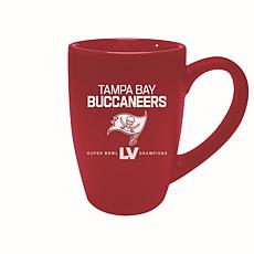 Officially Licensed NFL Super Bowl 55 Champ 15oz Bistro Mug Bucs