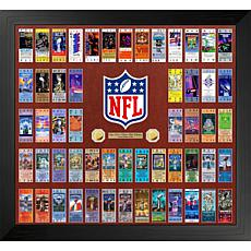 Officially Licensed NFL Super Bowl 55 Ticket Collection Photo Mint