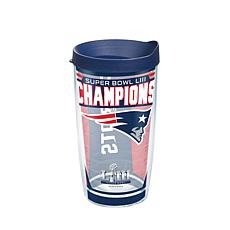 Officially Licensed NFL Super Bowl LIII Champs 16 oz. Tumbler-Patriots
