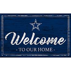 Officially Licensed NFL Team Color Sign - Dallas Cowboys