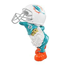 Officially Licensed NFL Team Gnome Carrying Helmet