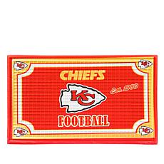 Officially Licensed NFL Team Logo Embossed Doormat - Ch