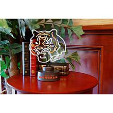 6728720b Officially Licensed NFL Team Logo Neon Lamp - Bengals
