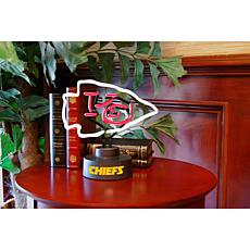 Officially Licensed NFL Team Logo Neon Lamp - Chiefs