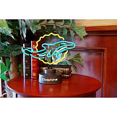 Officially Licensed NFL Team Logo Neon Lamp - Dolphins