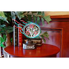 Officially Licensed NFL Team Logo Neon Lamp - Titans