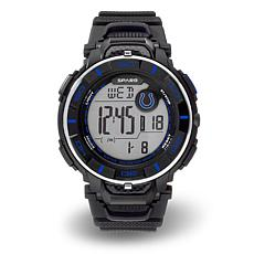 """Officially Licensed NFL Team Logo """"Power"""" Digital Sports Watch - Colts"""