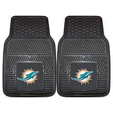 Officially Licensed NFL Team Logo Set of 2 Car Mats