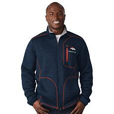 Officially Licensed NFL Transitional Full Zip Jacket  by Glll
