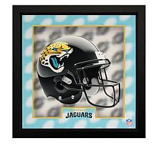 """Officially Licensed NFL Tridelix 16"""" x 16"""" Wooden Frame"""