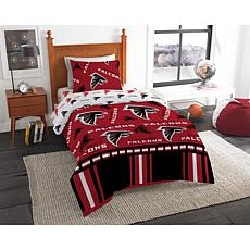 Officially Licensed NFL Twin Bed In a Bag Set - Atlanta Falcons