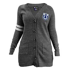 Officially Licensed NFL Varsity Cardigan - Colts