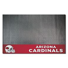 Officially Licensed NFL Vinyl Grill Mat  - Arizona Cardinals