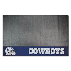 d70f5da028b Officially Licensed NFL Vinyl Grill Mat - Dallas Cowboys