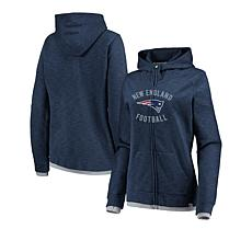b3912b61d Officially Licensed NFL Women's Fandom Full-Zip Hoodie by Fanatics