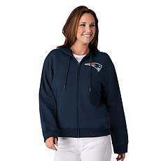 release date: a0bf2 1d72a Officially Licensed NFL Women's Full-Zip Hoodie by Glll
