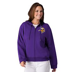 release date: 65e55 d058d Officially Licensed NFL Women's Full-Zip Hoodie by Glll