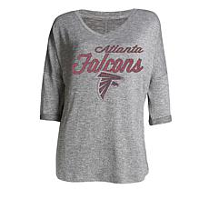 Officially Licensed NFL Women's Layover Lounge Shirt