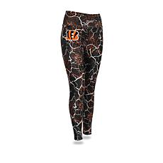 Officially Licensed NFL Women s Marble Crackle Legging by Zubaz e54ca6949c