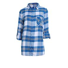 79fdbfba Officially Licensed NFL Women's Plaid Night Shirt by Concepts Sport