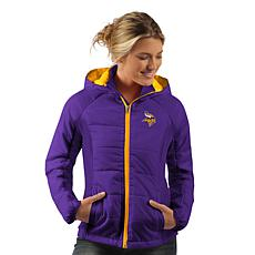 new product 121cb 68577 Officially Licensed NFL Women's Rundown Polyfill Hooded Jacket by Glll