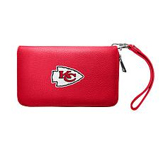 Officially Licensed NFL Zip Organizer Wallet - Kansas City Chiefs