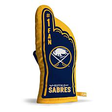 Officially Licensed NHL #1 Fan Oven Mitt - Buffalo Sabres