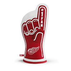 Officially Licensed NHL #1 Fan Oven Mitt - Detroit Red Wings