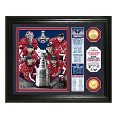 Officially Licensed NHL 2018 Stanley Cup Champ Photo Mint