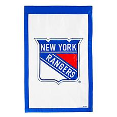 Officially Licensed NHL Applique House Flag - New York Rangers