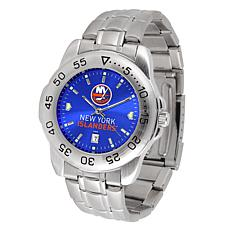 Officially Licensed NHL Sport Steel Series Watch - New York Islanders