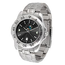 Officially Licensed NHL Sport Steel Series Watch -  San Jose Sharks