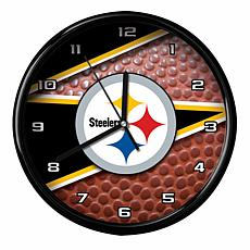 Officially Licensed Pittsburgh Steelers Team Football Clock