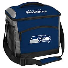 Officially Licensed Soft-Sided Insulated 24-Can Cooler Bag - Seahawks
