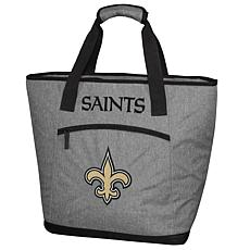 Officially Licensed Soft-Sided Insulated 30-Can Cooler Bag - Saints