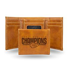Officially Licensed Super Bowl LIV Champs Trifold Wallet - Chiefs