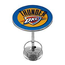 Oklahoma City Thunder NBA Chrome Pub Table