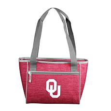 Oklahoma Crosshatch 16-Can Cooler Tote