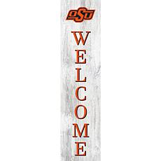 """Oklahoma State University 48"""" Welcome Leaner"""