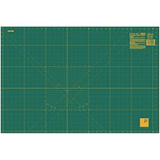 Olfa Gridded Self-Healing Cutting Mat - Green