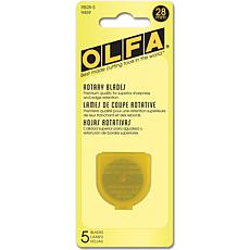 Olfa Rotary Blade Refill - 28mm/5-pack