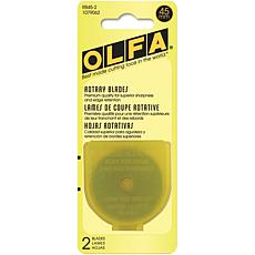 Olfa Rotary Blade Refill - 45mm 2-pack