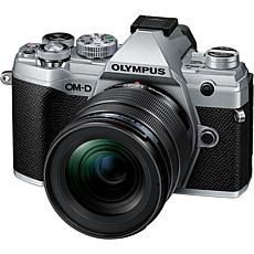 Olympus OM-D E-M5 Mark III Digital Camera with 12-45mm Lens - Silver